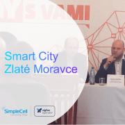 Konferencia o Smart City v Zlatých Moravciach. Prezentoval Martin Komínek